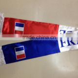 custom sport teams 2016 france UEFA European Football Championship french flag soccer football fans scarf