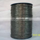 Braided Packing Made Of Flexible Graphite Yarns Reinforced With Glass Yarn
