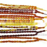 Latest design beads wedding dresses loose 33 turkish amber beads