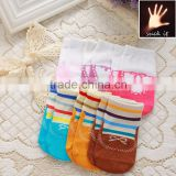 Cute cartoon Baby Toddler dispensing Slip Socks wholesale flower and Footprint patterned kids christmas sock