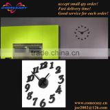wholesale with 12 Numbers EVA wall sticker clock