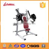 China Factory high end Incline Chest Press Free Weights in weight lifting gym equipment good price LJ-5703