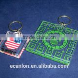 New design colorful compact key holder keychain