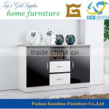2016 New design High gloss UV Painting wooden Dining room buffet