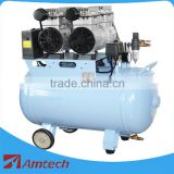 CE&ISO approved dental air compressor/ dental lab equipment dental oilless air compressor 7002