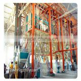 Commercial 100tons/24hours wheat flour mill machinery,roller flour mill equipment,wheat flour milling factory