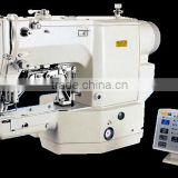 The highest speed sewing machine,Electronic clothing sewing machine , Electronic direct drive lockstitch bar tacker