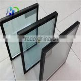 Low E coating double pane tempered glass Tempered insulated glass panels for insulated glass garage door