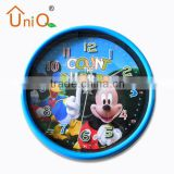 Fashion colorful Promotional cheap wall clock