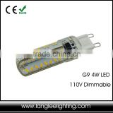 Bulb Dimmable Lamp Socket 4W G9