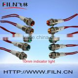 Hot sale led headlight bulbs led universal turn signal switch indicator light (factory selling)