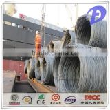 SAE 1008/1008B wire rods q235 high quality hot rolled steel wire rod for drawing wire from China factory