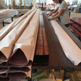 wood finish machin for aluminum profiles and sheet