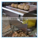 automatic coconut dehusking machine coconut husk remover