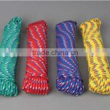 Diamond Braid Polypropylene Rope, 5/8 by 100 Feet, Assorted Colors