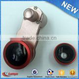 phone clip selfie 3-in-1 fish eye lens logo camera smartphone lens kit