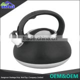 Good Quality & Cheap Price whistling kettle color coating stainless steel tea kettle