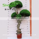 SJLJ013291 Guangdong factory wholesale artificial topiary tree / artificial bonsai / artificial plant