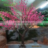 SJLJ013546 artificial cherry blossom tree with lights decorative led tree for wedding decoration