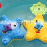 customized cute soft baby bath toys,animal soft pvc water spray bath toys,Spray water animal plastic toy bath toys