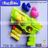 Popular safe material easy handle toy shooting gun