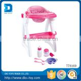 2017 Hot sale good quailty plastic high foot baby chair dinning