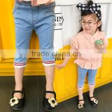 S16963A New Items 2017 Jeans Pants Girls Trousers