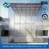 Artchitectural roof structure ptfe screen membrane
