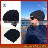 ZT-0088High Quality beanie hat and cap for men and women acrylic winter knitted beabie cap custom