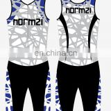 China reliable supplier Cheapest lycra cycling triathlon wholesale Skinsuit Women sublimation printed triathlon sportswear