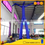 blue skin air dancer inflatable for exhibition outdoor inflatable sky dancer for sale