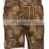 Mens Bavarian LEDERHOSEN with Matching Suspenders trachten lederhose,,bavarian lederhosen,german dress pants hosen