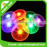 Colorful Acrylic Led Flashing drinking coasters for sale
