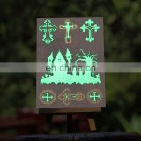 New arrival! Popular tattoos, girls summer shinny glow in the dark temporary tattoo custom