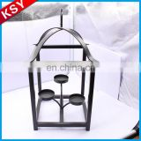 New Product Top Quality Roof Wire Lantern Christmas Metal Candle Holder