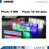 USB Rechargeable And Programmable Electronic Smart Scrolling Led Moving Message Sign Board