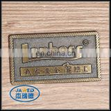 Custom cheap metal zinc alloy badge/label for furniture