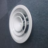 Aluminum Adjustable Round Ceiling Diffuser Parts China Supplier