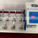 Factory Price Leather Flexing Test Machine Flexing Resistance Tester Testing Machine