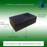 YX-007mini-S handheld recording shield 6 terminals, anti-recording, prevent illegal recording