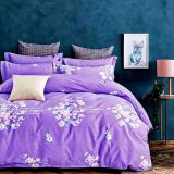Printed Pattern and 70gsm Weight 100% polyester pigment printing bedsheet fabric