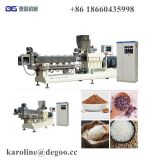 Artificial Nutritional Fortified Puffed Rice Food Snacks Extruder Machine Processing Line by Jinan DG Machinery