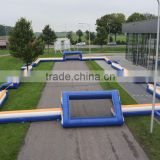 2016 outdoor lawn inflatable soccer field,giant inflatable football arena,inflatable sports arena for soccer