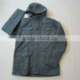 mens long padded jacket,2012 Winter Season