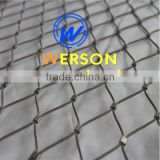 agriculture anti bird aviary mesh / net ,stainless steel stadium wire mesh ,hand woven or ferruled | generalmesh