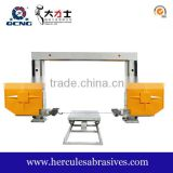 diamond wire saw machine used for stone block cutting (granite marble)