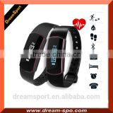New Arrival Bluetooth Bracelet Activity Tracker Pedometer Sleep Monitor Sync with IOS Android