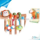 Baby Bed Crib Plush Hanging Toy Monkey