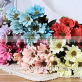 Europe type style oil painting simulation flower crown Daisy Little Daisy flowers, silk flowers small wildflowers plastic flower