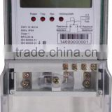 Single Phase anti-tamper LCD display electricity meter